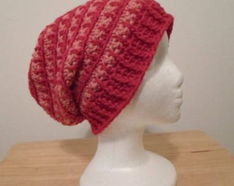 Slouchy Crochet Hat for Women