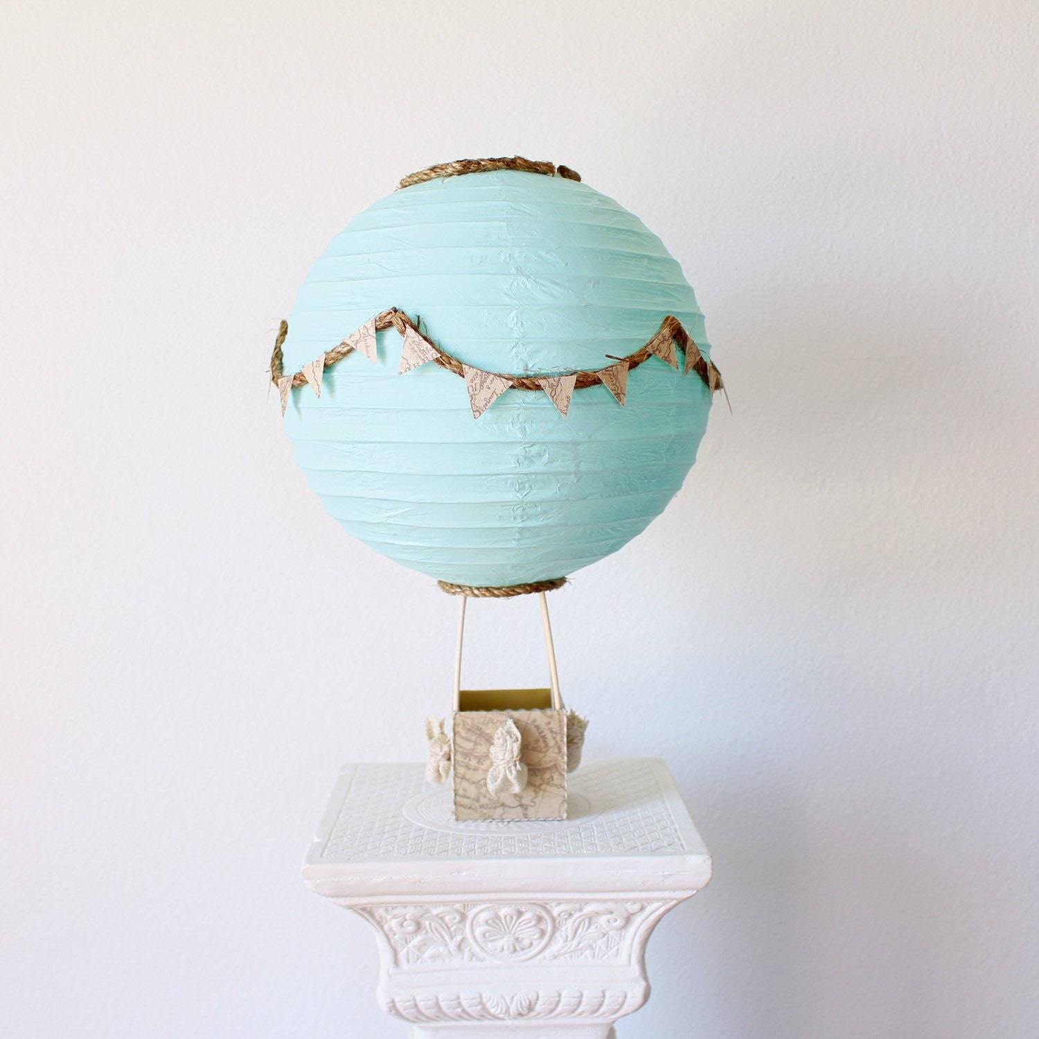 Hot air balloon centerpiece decoration travel theme zoom junglespirit Image collections