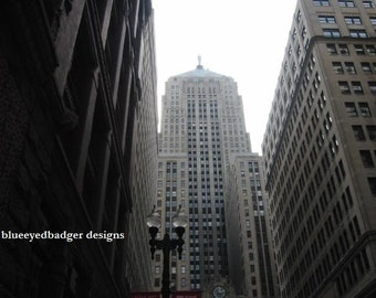 Chicago Board of Trade, downtown Chicago, Illinois, color photography, PoM team, PoE team