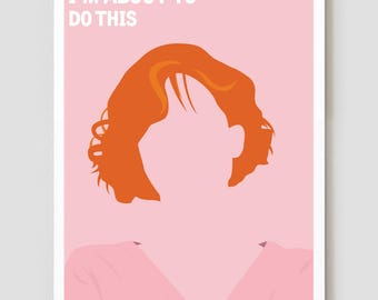 """Claire Standish, The Breakfast Club Art Print / Poster - 11"""" x 17"""""""