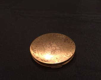 Stratton Vintage Compact Goldtone Never Used