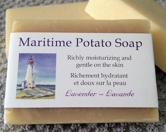 Maritime Potato Soap-Lavender