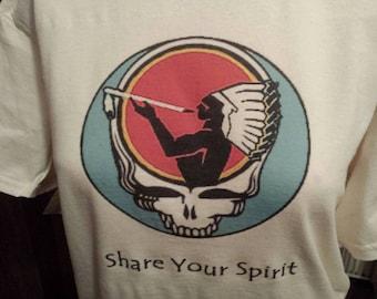 Share Your Spirit American Spirit Stealie Tshirt