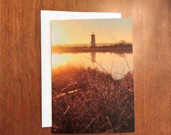 Martha's Vineyard sunrise - 5x7 blank greeting cards (pack of 5)