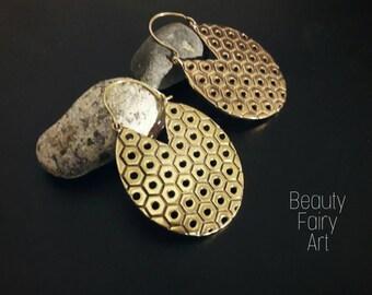 Big round earrings,large hoops,Tribal earrings, geometric earrings,boho brass earrings,fancy fashion earrings,round earrings,boho hoop,lace