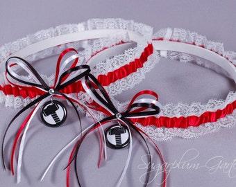 Thor Lace Wedding Garter Set