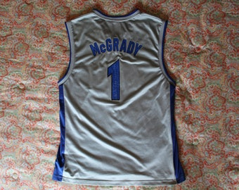 NBA Basketball Jersey - Tracy McGrady - 1 - Orlando Magic - Reebok -  L / (L/G/G)