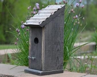 Rustic Bluebird Birdhouse