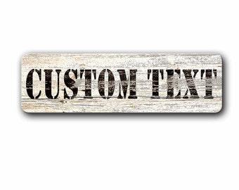 Custom Metal sign,Personalized Sign,Kids Sign,Custom Sign,Vintage wood,aluminum sign,Personalized Sign,Childrens,Kids room decor,SST_001