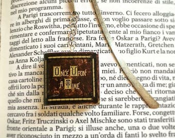 "Bookmark ""Once upon a time..."" ""Once upon a time..."""