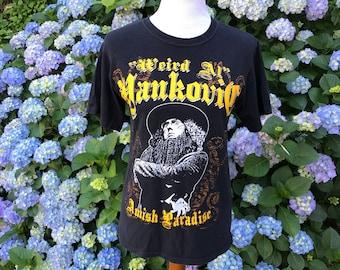 Weird Al Yankovic // 90's Tshirt // Amish Paradise // Small // Medium