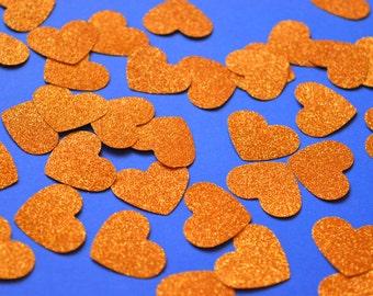 Engagement Confetti Gold Heart Confetti Bachelorette Party Decorations Wedding Decor Engagement Party Decor Proposal Confetti Table Decor