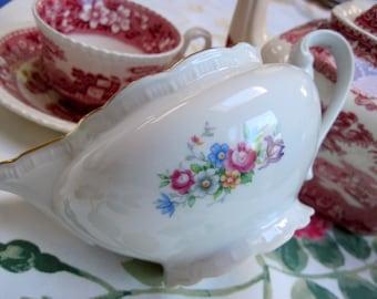 """Porcelain """"Bouquet"""" Creamer"""