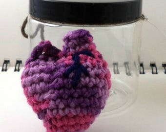 Heart in a Jar - Pinks and Purples (SWG-HT009)