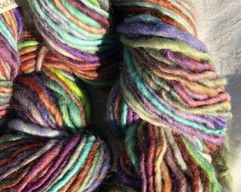 Variegated Hand Spun Yarn