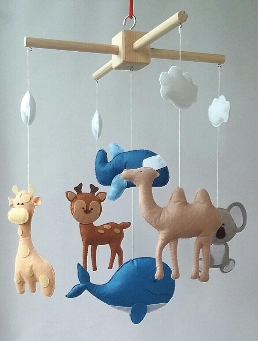 Tiere mobile Kinderbett mobile Baby Krippe mobile Kinderzimmer