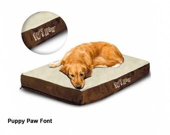Personalized Orthopedic Dog Bed