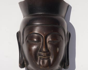Coming soon-Vintage Bronze Buddha Mask