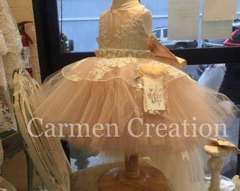Mini Bride Tutu Dress