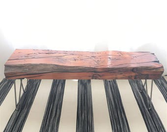 Reclaimed Wood Bench - shipping not included