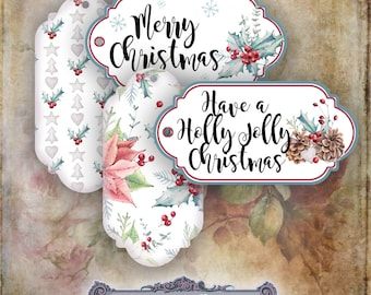 Christmas Gift Tags Set 2