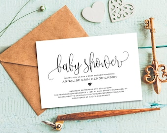 Baby shower invite editable invitation template watercolor baby shower invitation baby shower invitation template invitation printable boy girl baby shower invite pdf instant download bpb3091 filmwisefo