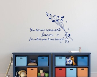 Peter Pan Wall Decal Quote Never Grow Up Quotes Wall Decals