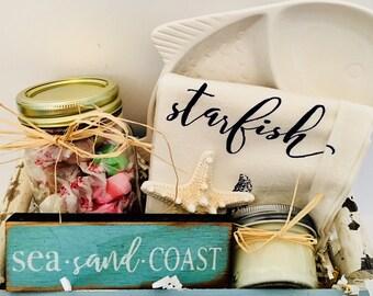 Coastal Themed Basket- Small