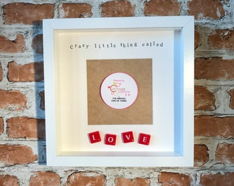 Crazy little thing called love - Photo Frame