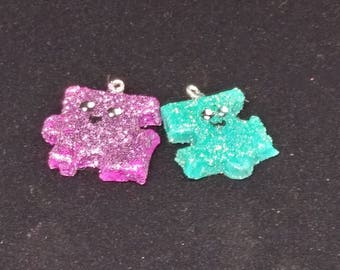 Puzzle Piece Friendship Charm Necklaces