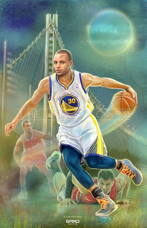 """Stephen Curry """"A Warriors Run"""""""