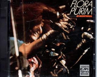Flora Purim - 500 Miles High At Montreux (CD, Album, Reissue) VG+ Jazz Vocals.