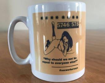 Basis Yorkshire customised mug