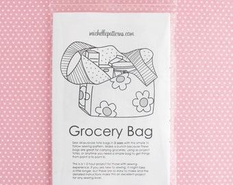 PRINT VERSION Grocery Bag Pattern