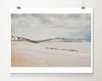 Lyme Regis photograph beach photograph ocean photograph Jurassic Coast photograph beach decor coastal print beach art nautical decor
