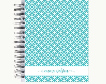 Bullet Journal – Personalized   Spiral   Dot Grid   Notebook   Circles