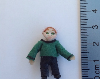 Nigel 1/48scale smiling red head miniature man