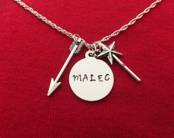 Malec - Shadowhunters Inspired Necklace (Magnus & Alec)