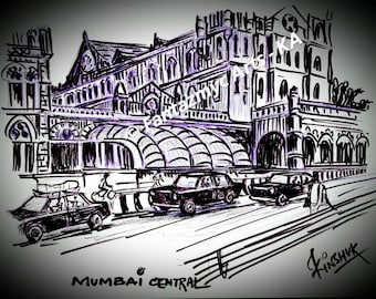 Mumbai Central in the 90s