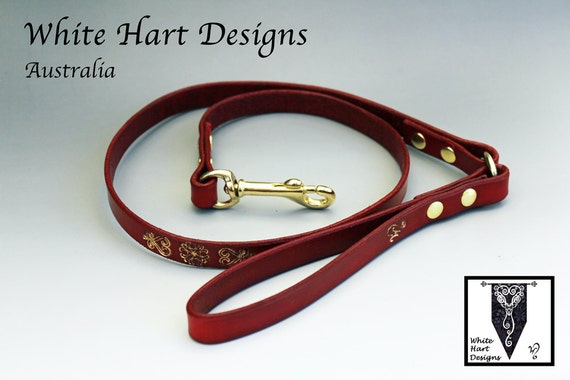 Hand made Leather Leash