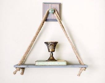 Grey Swing Shelf