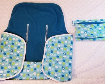 Car Seat / Stroller Blanket & Stroller Organizer - Stroller Essentials - Baby Shower Gift - Gift Wrapping Available