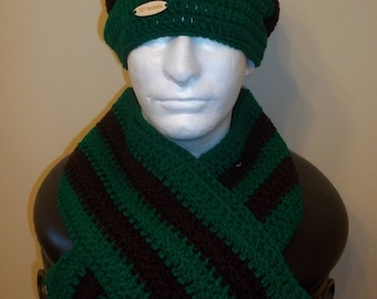 Crochet man Brown/Green Set