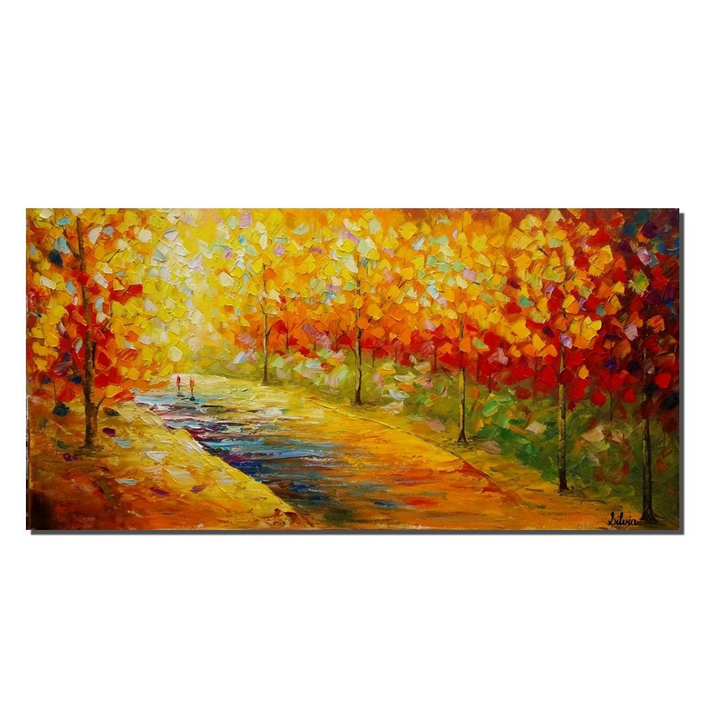 Large Art Canvas Art Landscape Painting Custom Painting