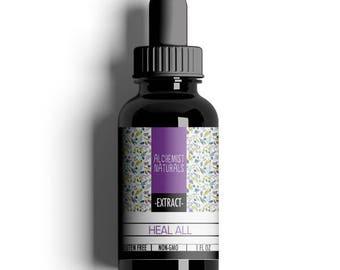 Heal All (Self Heal) Liquid Extract 1 oz