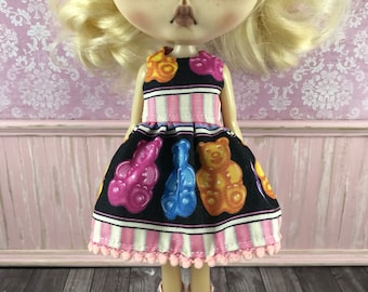 SALE - Blythe Dress - Gummy Bears