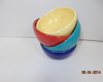 Colorful Stoneware Bowls