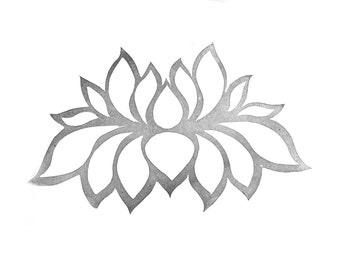 Lotus Rubber Stamp | 011063