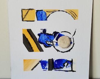 "Mixed Media Painting ""Texture 10"""