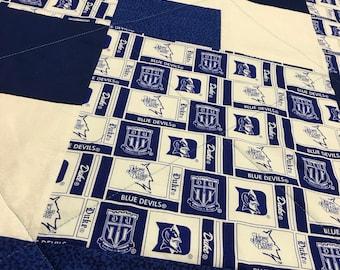 Duke Blue Devils Handmade Quilt